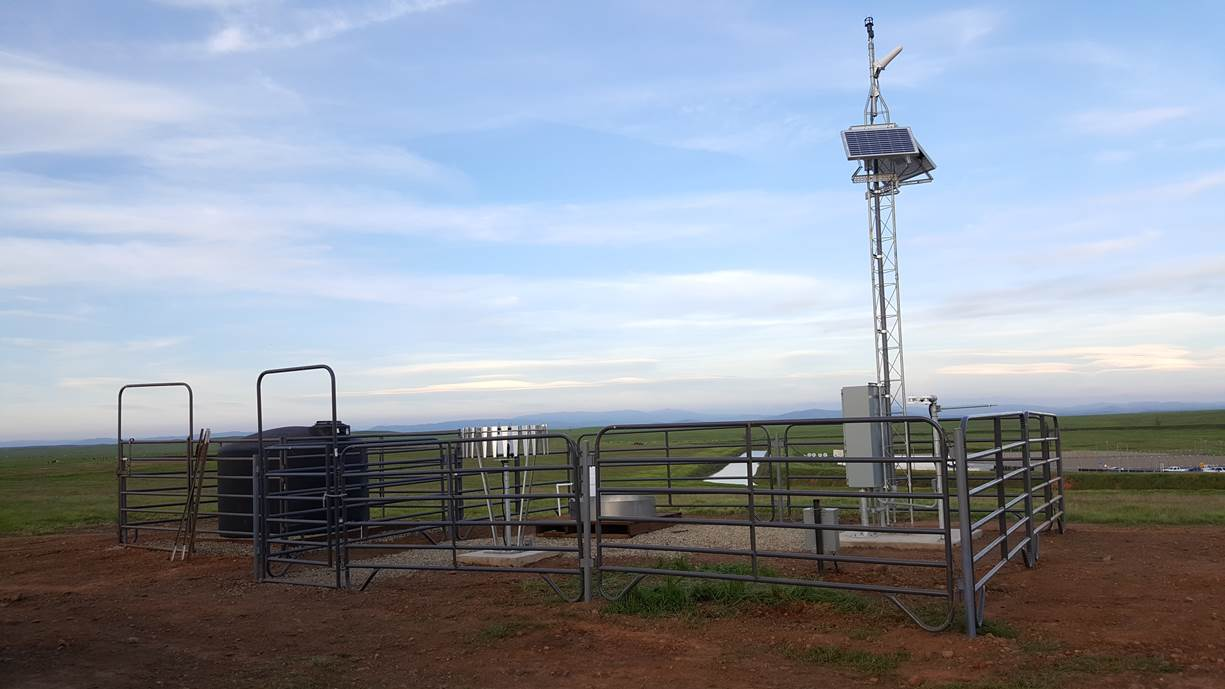 The Uc Merced Weather Station Is Online Merced Vernal